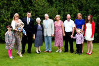 Moira's Golden Wedding Group
