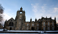 King's College, Aberdeen in the snow