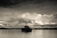 Loch Lomond in Black & White